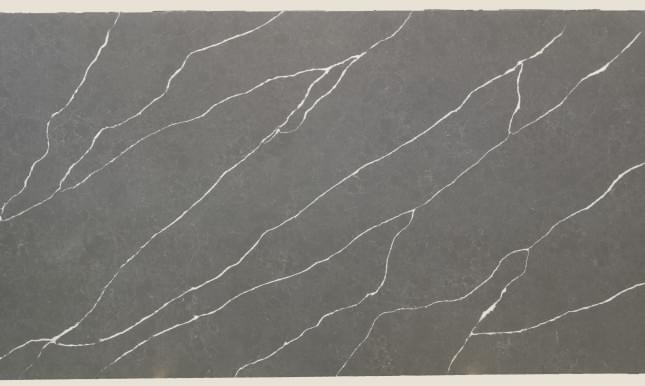 КВАРЦ GREY MARQUINA EQHM 007 LEATHER 3200X1600 20MM